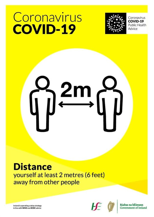 COVID poster Distance