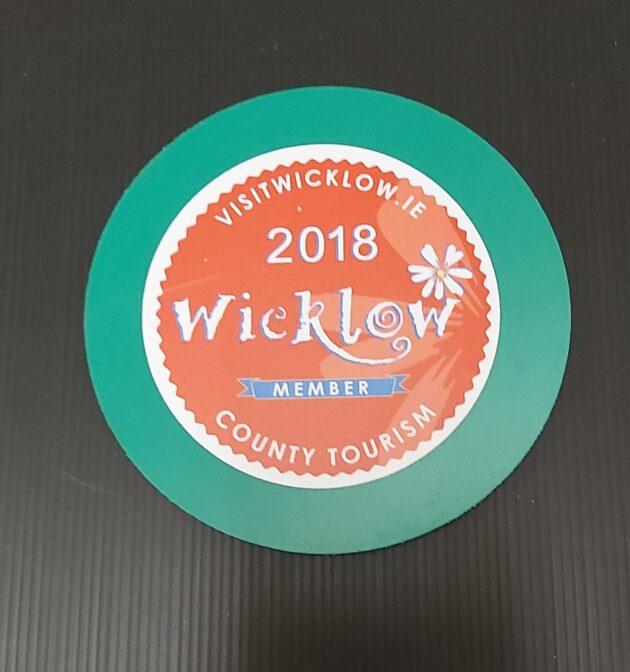 Round Sticker Label Printed