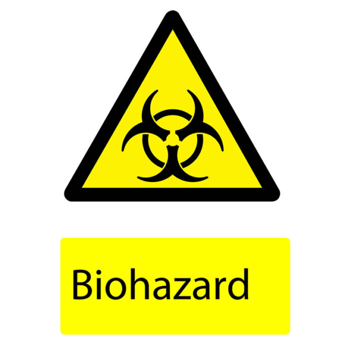 Hazard Warning Sign printed by Devitt Print
