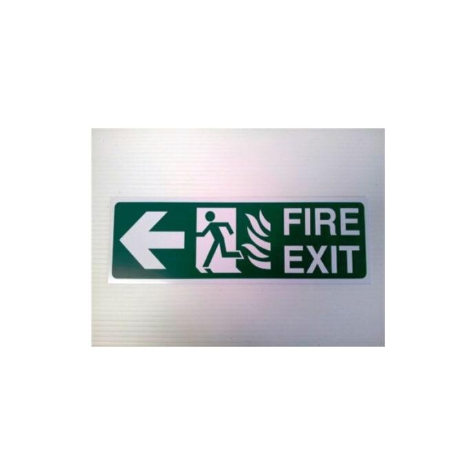 Fir Exit Sign Healthy & Safety Devitt Printing