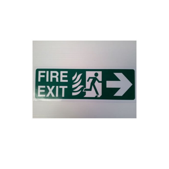 Fire Exit Sign - Healthy & Safety Signage - Printed by Devitt Print