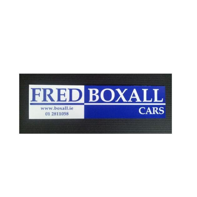 Motor Trade Rear Window Sticker