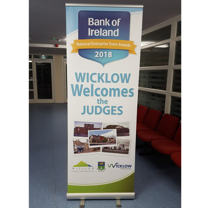 bSmart Roll Up Banners | Pull Up Banners | Printed in Full Colour | wicklow