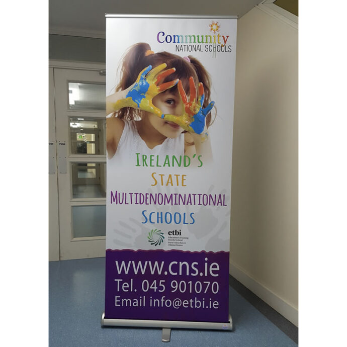 bSmart Roll Up Banners   Pull Up Banners   Printed in Full Colour   wicklow