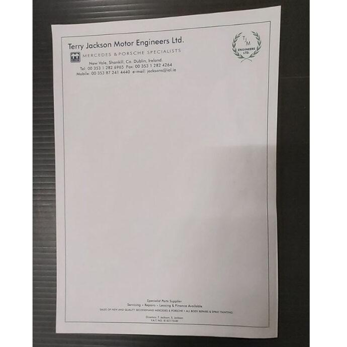 Company Letterhead | Business Stationery | Devitt Printing